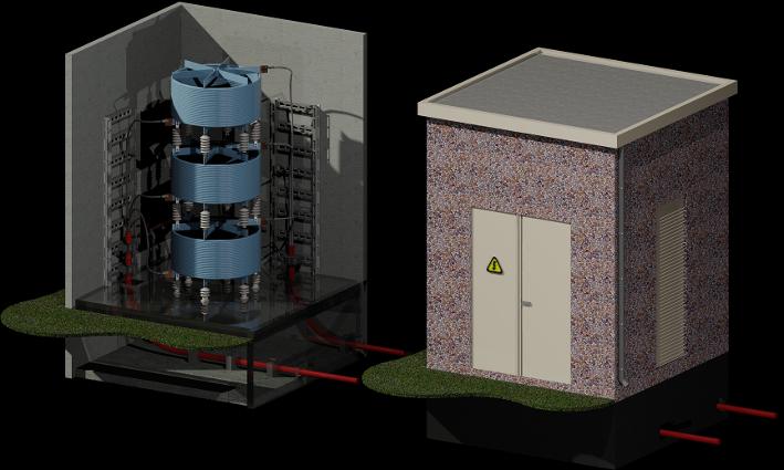 6 kV Hoogspanningsinstallatie vervangen 425